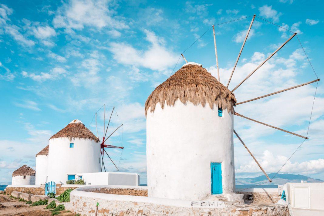Mykonos Ausfluege Windmuehlen Touren Sehenswuerdigkeiten