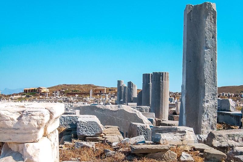 Mykonos Tagestour Insel Delos Sehenswuerdigkeiten
