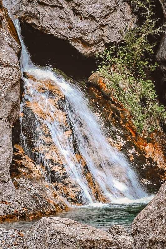 Enipeas Wasserfaelle Olymp Gebirge Griechenland Sehenswuerdigkeiten