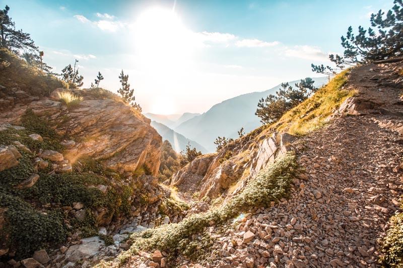 Olympos Nationalpark Wandern in Griechenland
